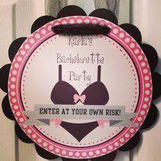 Bachelorette Door Sign Bachelorette Party Decor Wall by Kbettega, $10.00