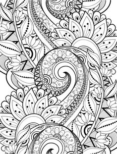 15 crazy busy coloring pages for adults coloring pinterest