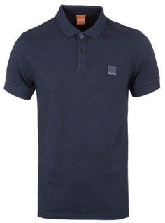 HUGO by HUGO BOSS 'Dellinio' Mercerized Cotton Slim Fit Polo Shirts Purple  NWT | Hugo boss
