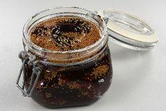 Figen marmelade 4 Nutella, Purple Food, Chutney, Mason Jars, Brunch, Sweets, Sugar, Homemade, Tableware