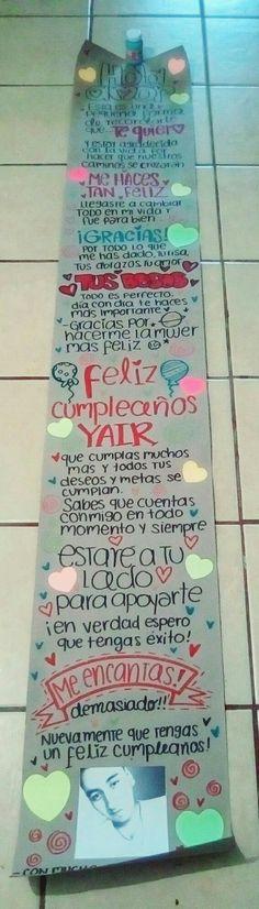 Pergamino #HechoAMano #Regalo #Cumpleaños