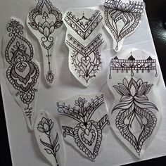 Some pieces available to be tattooed, by Han maude. Not for copy. Some pieces available to be tattooed, by Han maude. Not for copy. Mini Tattoos, Love Tattoos, Unique Tattoos, Beautiful Tattoos, Body Art Tattoos, Small Tattoos, Tattoos For Women, Mandala Tattoo Design, Henna Tattoo Designs