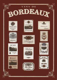 Les vins de Bordeaux réputés à travers le monde.