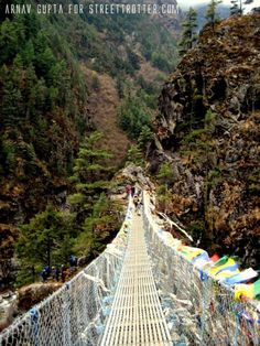 """Create some sort of bridge for the kids to """"cross"""" to get from snacks to basecamp."""