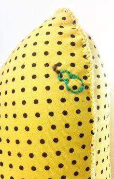 Almofada - Detalhes de uma Pera na Banana! ;)
