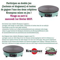 La Cuisine de Bernard : Jeu Krampouz !
