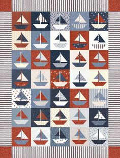 Sailboat Quilt Pattern