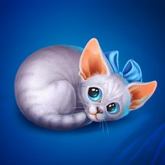 Kittens for social mobile game