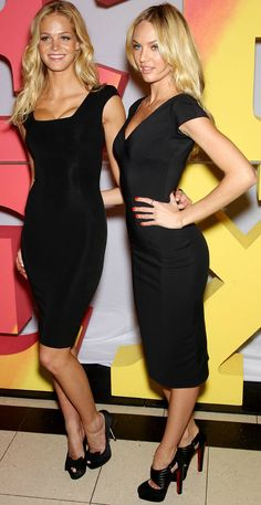 Two for one Erin Heatherton and Candice Swanepoel