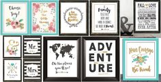 BOGO FREE HOME, OFFICE & COLLAGE WALL ART! | Jane