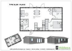 Forskellige hustyper og planløsninger - KB Fritidshuse absolut favoritten