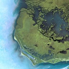 Cape Sable seen from Spot Satellite