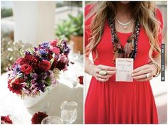 Bridal Shower Ideas - sweet 'gems' of advice from bridesmaids to bride! By Twine Events  (photos by Lane Dittoe) | CHECK OUT MORE IDEAS AT WEDDINGPINS.NET | #weddings #redwedding #red #passion #events #forweddings
