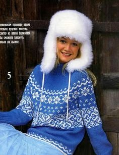 Свитер с круглой кокеткой - схема / Вязание спицами / Вязание для женщин спицами. Схемы