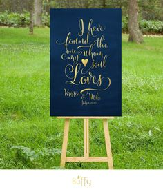 Gold & Navy Chalkboard Wedding Welcome Sign . White and Blush Pink Floral Roses . Wedding Ceremony Signs, Wedding Welcome Signs, Wedding Programs, Wedding Timeline, Wedding Reception, Wedding Quote, Chalkboard Wedding, Our Wedding, Wedding Ideas
