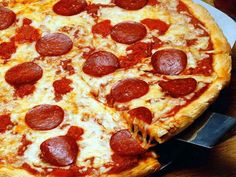 One of my favorite foods is Pizza, especially pepperoni. My favorite place to get pizza is at Little Ceasers.