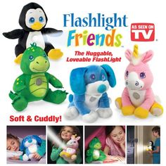 Flashlight Friends - The Huggable Loveable Child's Flash.. from.. http://dotd4u.com/dz/B00D97SNG4/Flashlight-Friends---The-Huggable-Loveable-Child%27s-Flash #Toys and Games As Seen On TV