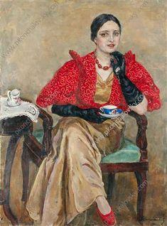 Portrait of G. A. Egorova, 1934 Pyotr Konchalovsky