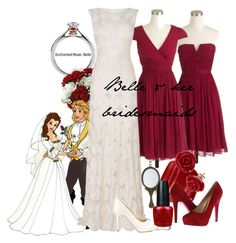 And i like the middle dress disney belle wedding, disney inspired wedding, disn Disney Belle Wedding, Disney Inspired Wedding, Disney Inspired Fashion, Princess Wedding, Disney Weddings, Fairytale Weddings, Themed Weddings, Intimate Weddings, Disney Princess Fashion