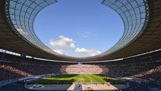 Olympiastadion Olympia, Berlin, Uefa Euro 2016, World Football, Marina Bay Sands, Architecture, Twitter, Gallery, Building