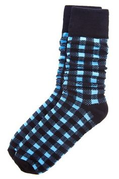 English Laundry Checker Sock With Images Checkered Socks