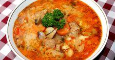Mennyei Bakonyi betyárleves recept! Számomra a jó leves olyan, amiben megáll a kanál. :) Ez a bakonyi betyárleves recept teljesen megfelel ennek a kritériumnak, ráadásul nagyon finom is. Egy szelet ropogós fehér kenyérrel mennyei fogás. :)