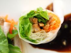 Mediterranean Spring Rolls and Airport Layovers
