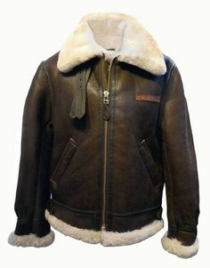 """The Men's leather jacket size 36 spec. Shoulder length measures 19.5"""". Sleeve length measures 26.5"""". Pit to pit measures 22"""". Back neck to waist measures 27.5"""". 100% authentic and brand new with original tag! *Please note, this jacket runs a size bigger! Please see measurements above to ensure proper fitting. MEN'S AVI"""