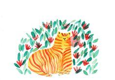 repos du tigre