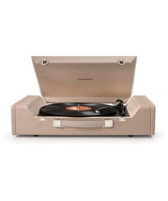 Look what I found on #zulily! Brown Nomad USB Turntable #zulilyfinds