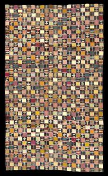 Ewe kente cloths are some of the most highly prized by collectors of African textiles worldwide because of the sheer skill and variety of styles they exhibit. Unfortunately this demand is making older cloths both hard to find and increasingly expensive in Ghana.