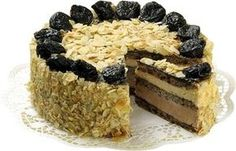 Országtorta Torte Cake, Traditional Cakes, Tasty, Yummy Food, Hungarian Recipes, Sweet And Salty, Confectionery, Cakes And More, Sweet Recipes