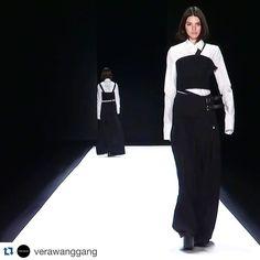 Beautiful! @kendalljenner walking the @verawanggang runway today at #NYFW #proudmama #Repost @verawanggang #VeraWang Fall 2016 Collection #krisjenner #krisisms