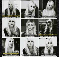 Taylor Momsen Best Quotes x