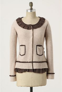twobutterflies: (Another) Anthropologie Inspired Cardigan