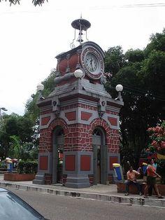 Praça do Relogio. Manaus-Am