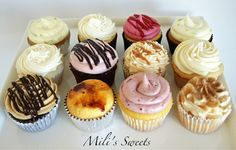 Assorted cupcakes by Mili's Sweets