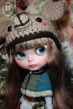Custom Commission Blythe Doll.   Flickr - Photo Sharing!