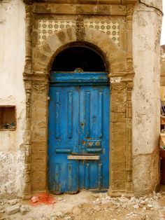 Id like to see what is on the other side of the blue door.
