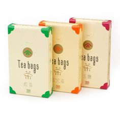 Nice #tea bag #packaging PD