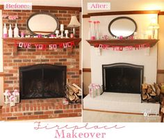 I'm so excited to share today's post with you! I have been wanting to complete this project in our house for probably about 6 years! That is a long time to wait and think about a project. Today I'm sharing my easy and dramatic fireplace makeover!For those of you who have followed me for a little…