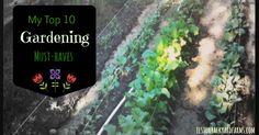 My Top 10 Gardening Must-Haves #springgardening