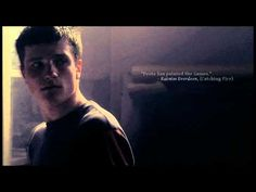 The Hunger Games Trilogy || Peeta's & Katniss' Quotes. This is the best fan made video I have EVER seen! It's amazing!