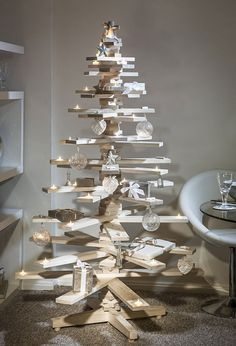 We wanted to show you 20 of the most creative, recycled, or simply fun Christmas trees around to inspire you with unconventional ideas for the brightest and coziest holidays of all!