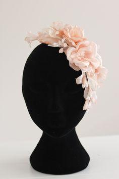 DAHLIA floral bridal headpiece