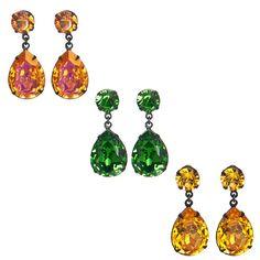 Double Tear Drop Earrings | Liz Palacios