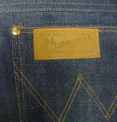 Wrangler (Wrangler) Real Vintage 1947 модель (конец) 11MW джинсы
