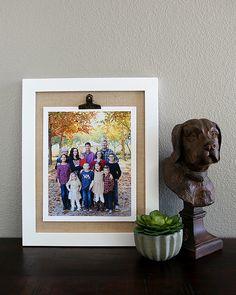 DIY Art & Photography Display Frame