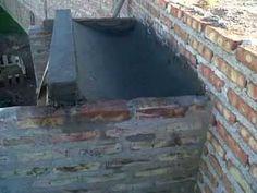pulmon de la parrilla - YouTube Bbq Grill, Grilling, Parrilla Exterior, Outdoor Bbq Kitchen, Firewood, Construction, Backyard, Architecture, World