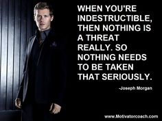 klaus mikaelson quotes the originals - Google Search